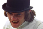 Alex De Large played by Macolm McDowell in A Clockwork Orange