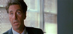 Al Pacino as Ricky Roma in Glengarry Glen Ross