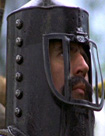 Terry Jones as Sir Bedevere in Monty Python and the Holy Grail