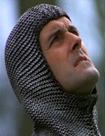 John Cleese as Sir Launcelot in Monty Python and the Holy Grail