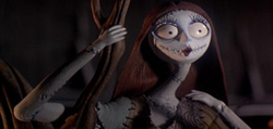 Sally in The Nightmare Before Christmas