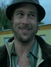 Brad Pitt as Mickey the Pikey in Snatch
